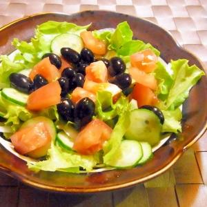 黒豆サラダ♪