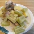 *減塩レシピ*鶏肉とお野菜のココナッツミルク煮込み
