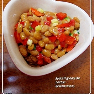 おつまみにも♪きゅうりと納豆レシピ