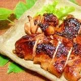 鶏肉の生姜入り粕漬け