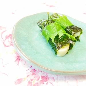 ❤韓国海苔と蒲鉾と大葉のワサマヨ巻き❤