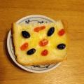 黒豆のトースト