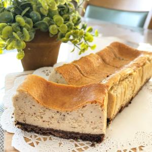 紅茶香る♩混ぜて焼くだけ簡単ベイクドチーズケーキ