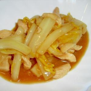"""ご飯が進む♪我が家の""""鶏と白菜のチンジャオロース"""""""