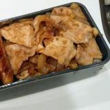 簡単!豚の生姜焼き弁当♡
