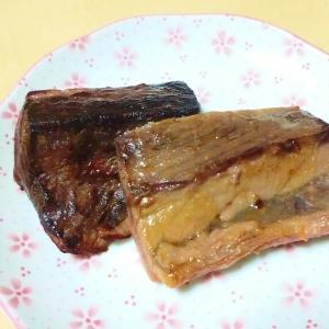 コスパ最高☆まぐろの血合いステーキ