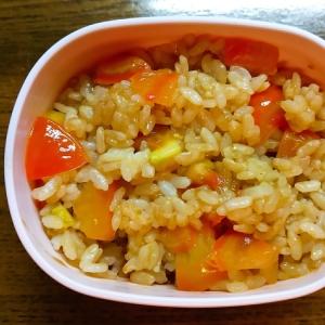 トマト入りカレーご飯