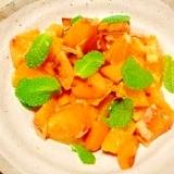オレンジとミントの☆マリネ