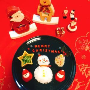 【離乳食後期】★クリスマスプレート★