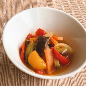 大きめ野菜のラタトゥーユ