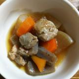 電気圧力鍋 ワンダーシェフ 鶏と野菜の煮物