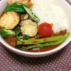 夏野菜たっぷり!暑さを吹っ飛ばせ!スパイシーカレー
