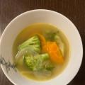 冷凍!いろいろ野菜&きのこのコンソメスープ