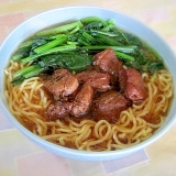 台湾の屋台大人気料理「魯肉飯」を麺にしました。
