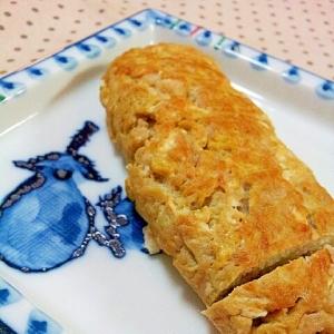 ✿すりおろし&シャキシャキ蓮根の卵焼き❤