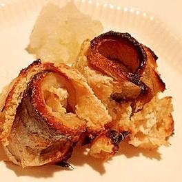 かりっとじゅわ~っと、秋刀魚の揚げ包み焼き