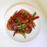 帆立と野菜の炒めもの