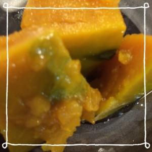 いりこ入りかぼちゃ煮꒰ ♡´∀`♡ ꒱
