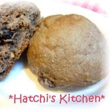 黒豆パン(簡単薄力粉パン)