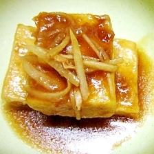 お弁当にも最適 照り焼き高野豆腐