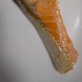 フライパンで鮭