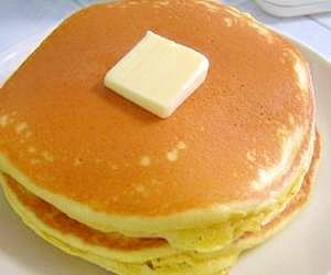 超簡単ヨーグルト入りふんわりパンケーキ