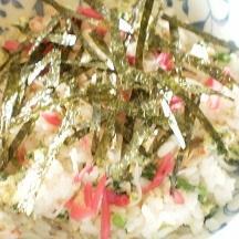 梅酢を使ってのちらし寿司