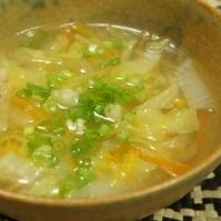 野菜の中華スープ