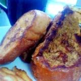 黒糖とシナモンのフレンチトースト