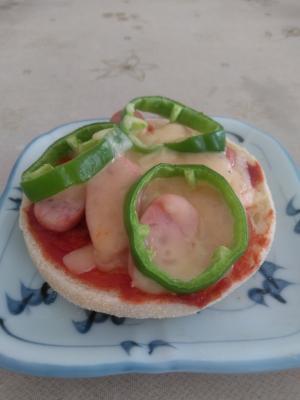 イングリッシュマフィンのミニピザ