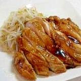 調味料はすべて同量!簡単鶏の照り焼き
