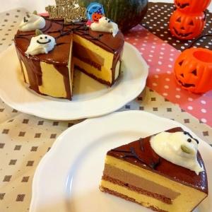 【ハロウィン2016】かぼちゃチーズ&チョコムース