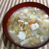 納豆豆腐汁
