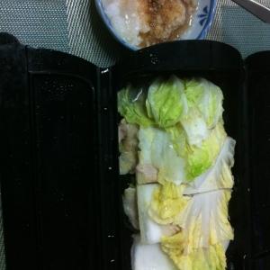 ルクエで簡単 白菜と豚肉の重ね蒸し 大根おろしで