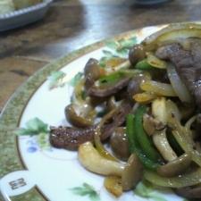 野菜で☆簡単焼き肉