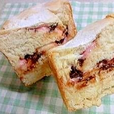 いちごミルク☆チョコレートの食パン