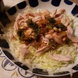 鶏胸肉のさっぱりサラダ♪