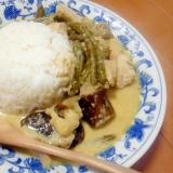 タイ料理と言えば、グリーンカレー!