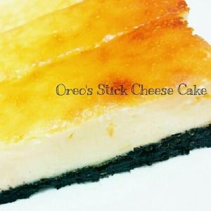 簡単♡オレオのスティックチーズケーキ♡