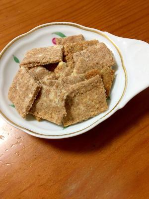 シナモン&ココナッツのおからクッキー