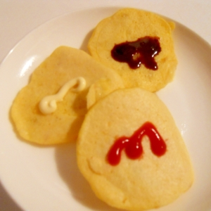 おやつに☆ じゃが芋でおからでおやき風パンケーキ