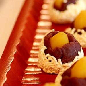 簡単!おせち料理に♫和菓子【レアチーズ栗きんとん】