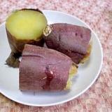 うちのあま-い焼き芋(炊飯器でほくほく☆)
