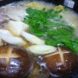 鴨汁たっぷり~鴨鍋。