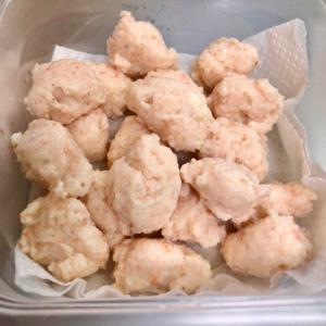 ⭐離乳食⭐ふわふわの海老団子