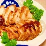 梅利用☆鶏胸肉の甘酸っぱ煮
