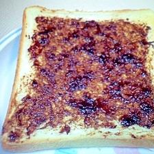 簡単☆和風☆海苔の佃煮トースト