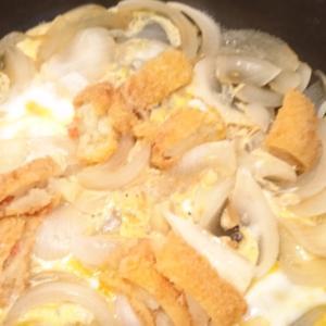 コロッケの玉子丼