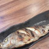 イサキの塩焼き