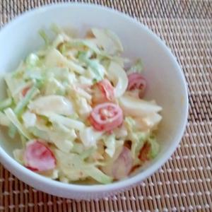 キャベツのマヨネーズサラダ